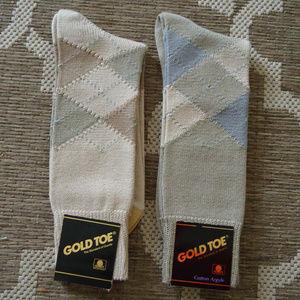 Gold Toe socks 2-Pairs